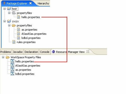 Property File Manager View