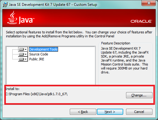 Path For Java Installation