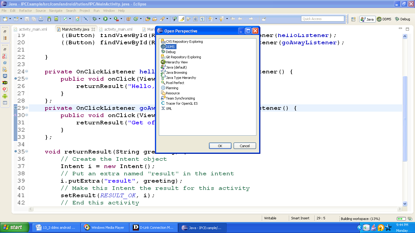how to open file nad debug in eclipse