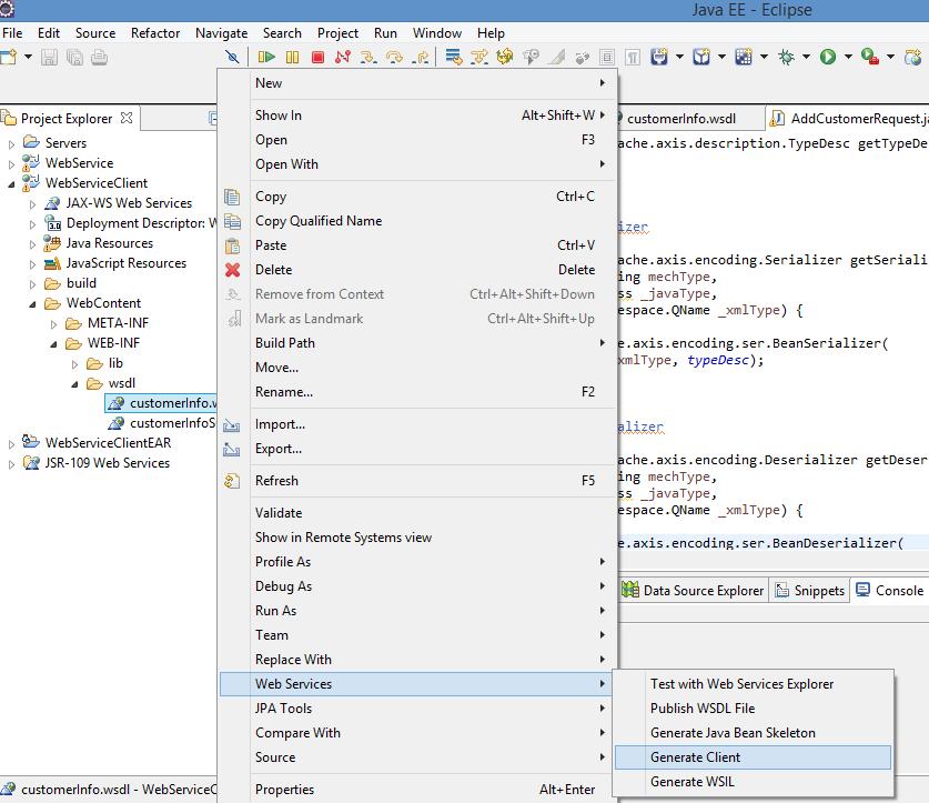 JAX WS Creating Web Service Client   JAX WS Tutorial